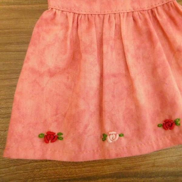 布のお人形 着せ替え 28cmサイズ 人形 ピンクのワンピース カーディガン セット|mixjam-store|10
