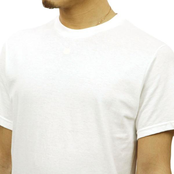 【エントリーで5%付与 4/6 0:00〜4/9 23:59】 フルーツオブザルーム FRUIT OF THE LOOM クルーネックTシャツ 5Pack ホワイト|mixon|06