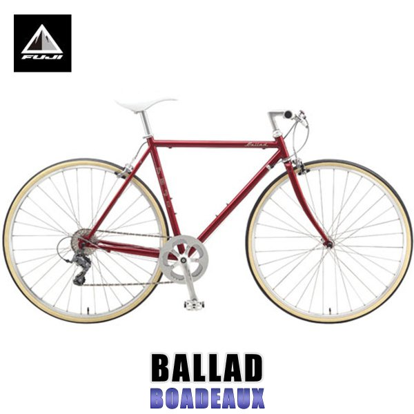 20%OFFセール 【販売期間 9/25 0:00〜9/25 23:59】 フジ FUJI 2015 自転車 BALLAD (CROSS BIKE) BOADEAUX|mixon