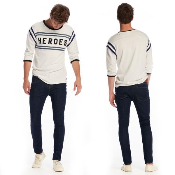 スコッチアンドソーダ Tシャツ メンズ SCOTCH&SODA 正規販売店 七分袖 VINTAGE SPORTS T-SHIRT 134298 17 COMBO A|mixon|11