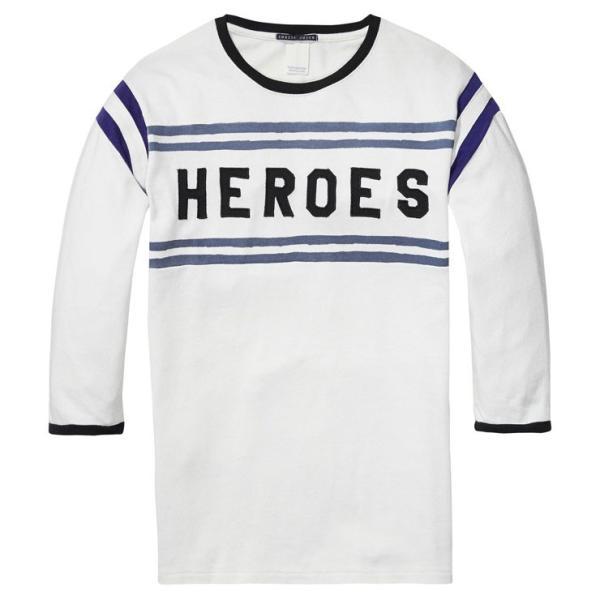 スコッチアンドソーダ Tシャツ メンズ SCOTCH&SODA 正規販売店 七分袖 VINTAGE SPORTS T-SHIRT 134298 17 COMBO A|mixon|05