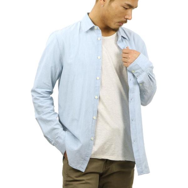 【ポイント10倍 12/12 0:00〜12/13 23:59まで】 ヌーディージーンズ シャツ メンズ Nudie Jeans 正規販売店 長袖 STANLEY SHIRT DENIM B26 140471 mixon 05