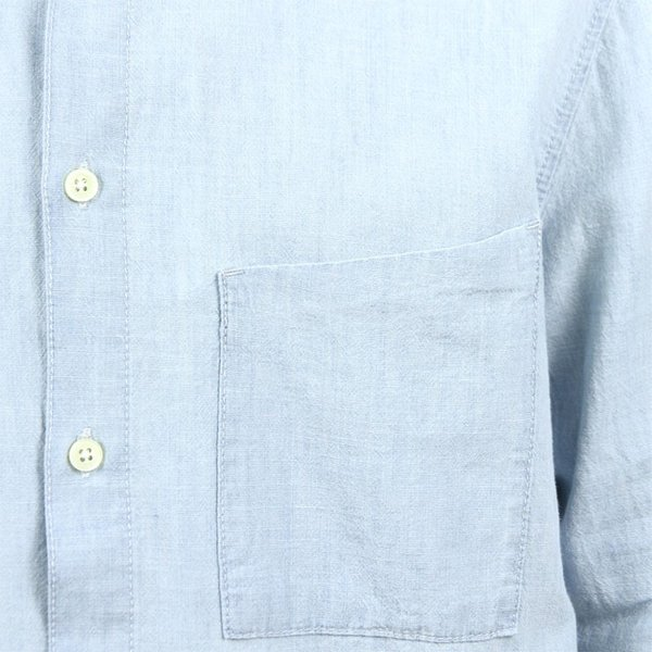 【ポイント10倍 12/12 0:00〜12/13 23:59まで】 ヌーディージーンズ シャツ メンズ Nudie Jeans 正規販売店 長袖 STANLEY SHIRT DENIM B26 140471 mixon 06