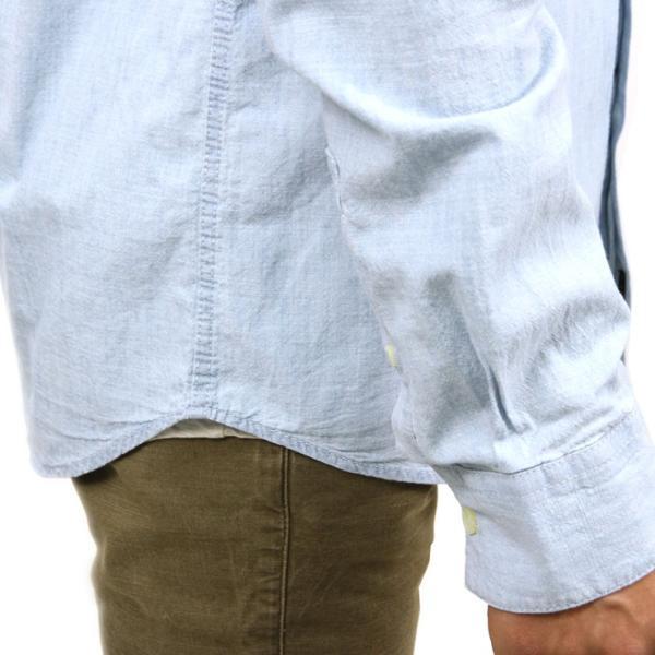 【ポイント10倍 12/12 0:00〜12/13 23:59まで】 ヌーディージーンズ シャツ メンズ Nudie Jeans 正規販売店 長袖 STANLEY SHIRT DENIM B26 140471 mixon 07