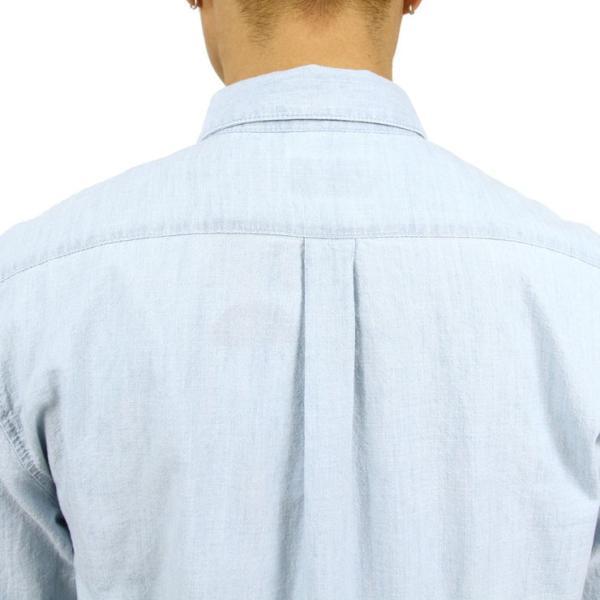 【ポイント10倍 12/12 0:00〜12/13 23:59まで】 ヌーディージーンズ シャツ メンズ Nudie Jeans 正規販売店 長袖 STANLEY SHIRT DENIM B26 140471 mixon 09