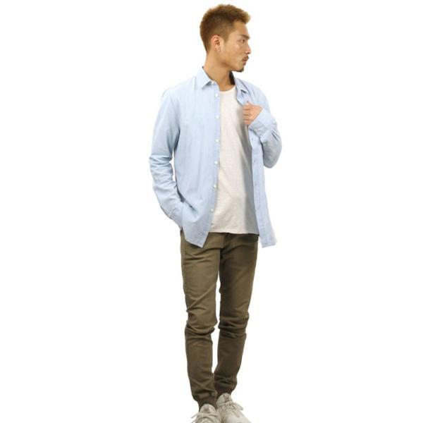 【ポイント10倍 12/12 0:00〜12/13 23:59まで】 ヌーディージーンズ シャツ メンズ Nudie Jeans 正規販売店 長袖 STANLEY SHIRT DENIM B26 140471 mixon 10