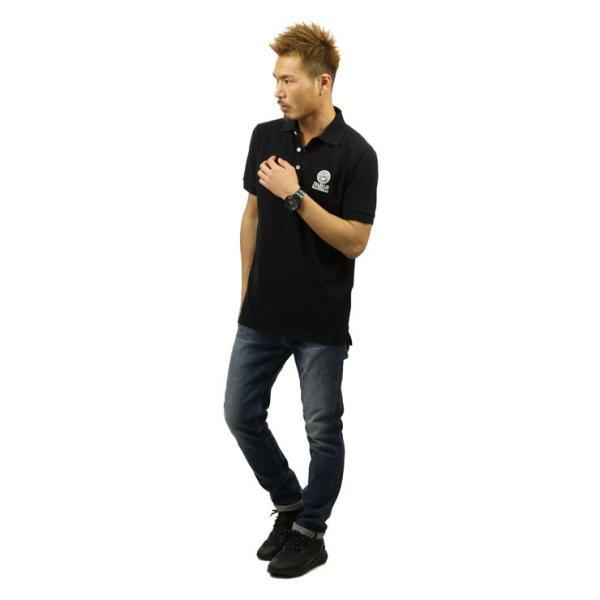 【ポイント10倍 9/25 0:00〜9/25 23:59まで】 フランクリンマーシャル ポロシャツ メンズ FRANKLIN&MARSHALL 正規販売店 半袖 POLO SHIRT BLACK POMF13|mixon|09