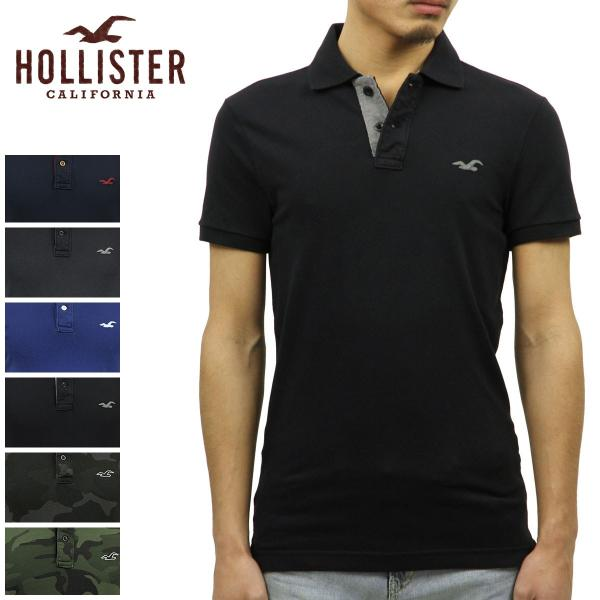 ホリスター ポロシャツ メンズ HOLLISTER 正規品 ストレッチ ピケ 半袖Stretch Pique Ombr? Polo Epic Flex|mixon|02