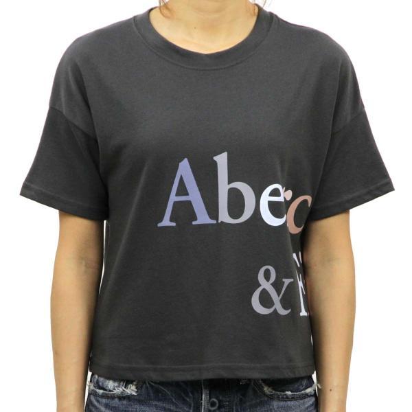 【ポイント10倍 9/25 0:00〜9/25 23:59まで】 アバクロ Tシャツ 正規品 Abercrombie&Fitch 半袖Tシャツ クルーネック  Exploded Logo Tee 157-576-0124|mixon|02