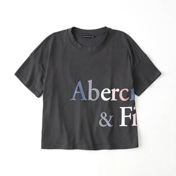 【ポイント10倍 9/25 0:00〜9/25 23:59まで】 アバクロ Tシャツ 正規品 Abercrombie&Fitch 半袖Tシャツ クルーネック  Exploded Logo Tee 157-576-0124|mixon|05