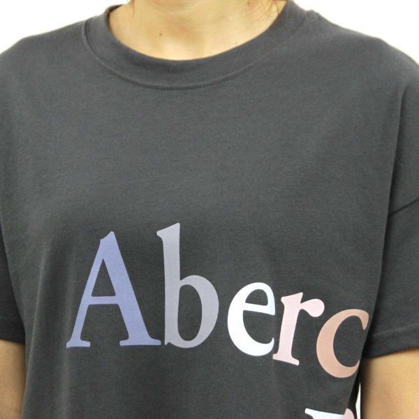 【ポイント10倍 9/25 0:00〜9/25 23:59まで】 アバクロ Tシャツ 正規品 Abercrombie&Fitch 半袖Tシャツ クルーネック  Exploded Logo Tee 157-576-0124|mixon|06