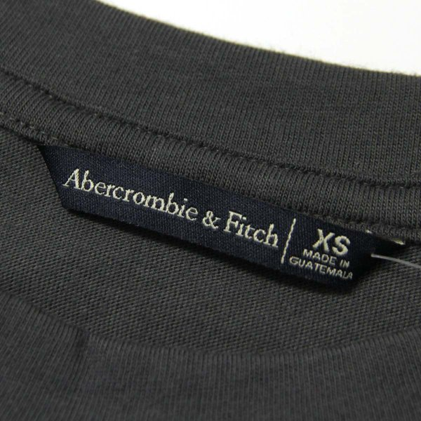 【ポイント10倍 9/25 0:00〜9/25 23:59まで】 アバクロ Tシャツ 正規品 Abercrombie&Fitch 半袖Tシャツ クルーネック  Exploded Logo Tee 157-576-0124|mixon|09