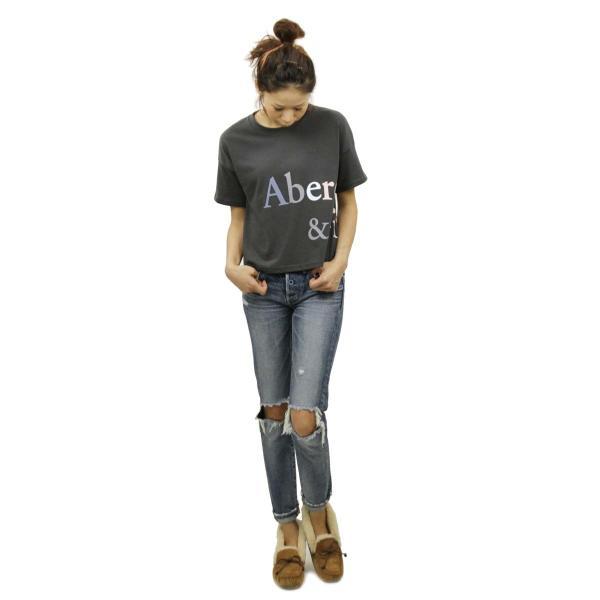 【ポイント10倍 9/25 0:00〜9/25 23:59まで】 アバクロ Tシャツ 正規品 Abercrombie&Fitch 半袖Tシャツ クルーネック  Exploded Logo Tee 157-576-0124|mixon|10