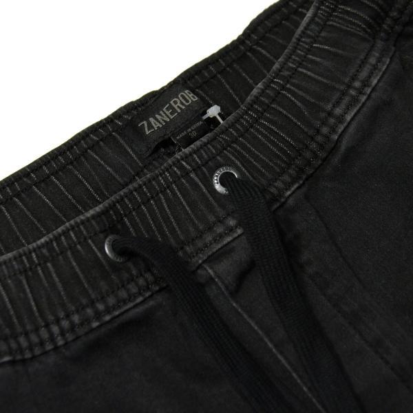 ゼンローブ ジョガーパンツ メンズ 正規販売店 ZANEROBE シュアショット ボトムス デニム SURESHOT DENIM JOGGER PANTS MILLED BLACK 713JP-FT|mixon|09