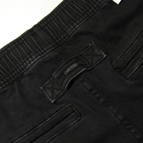 ゼンローブ ジョガーパンツ メンズ 正規販売店 ZANEROBE シュアショット ボトムス デニム SURESHOT DENIM JOGGER PANTS MILLED BLACK 713JP-FT|mixon|10