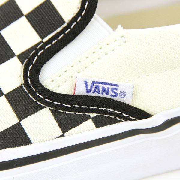 バンズ スリッポン 正規販売店 メンズ VANS シューズ VANS SLIP-ON PRO (CHECKERBOARD) BLACK/WHITE VN0A347VAPK|mixon|10
