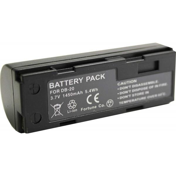 TKG』 リコー DB-20/DB-20L 互換バッテリーCaplio RR1/RDC-i500等対応