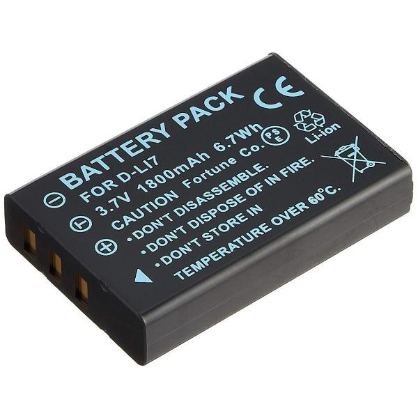 ペンタックス D-LI7 互換バッテリーOptio MX4/750Z等対応