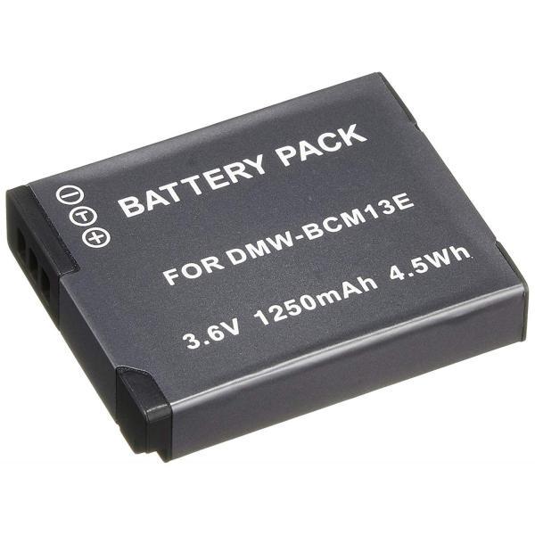 TKG』 パナソニック DMW-BCM13 互換バッテリーLUMIX DMC-FT5 / DMC-TZ40 など対応
