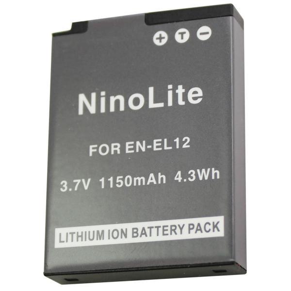 ニコン EN-EL12 互換バッテリーCOOLPIX A900 P330 S9500 S9400 AW110 S800c S31 S70 S620等対応
