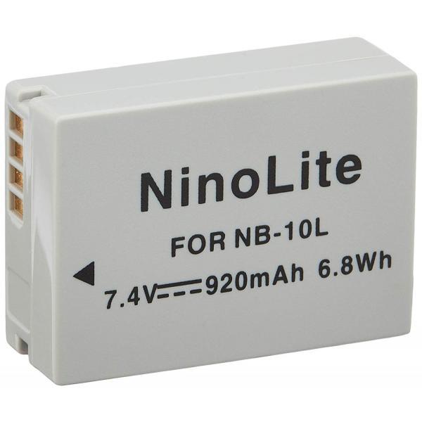 TKG』 キャノン NB-10L 互換バッテリー、PowerShot G1 X/G16/G15/SX40 HS/SX50 HS/SX60 HS など対応