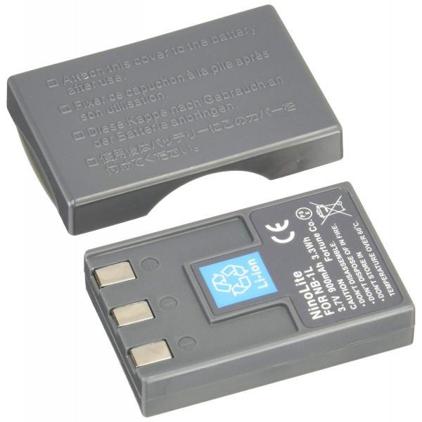 『残量表示可』NB-1LH/NB-1L キャノン互換バッテリー、IXY DIGITAL 200/IXY DIGITAL 500等対応