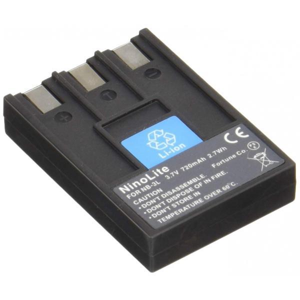 キャノン NB-3L 互換バッテリー、IXY DIGITAL 30a/IXY DIGITAL 700等対応