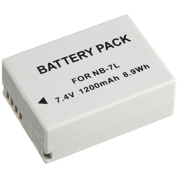 キャノン NB-7L 互換バッテリー、PowerShot G10/SX30 IS等対応