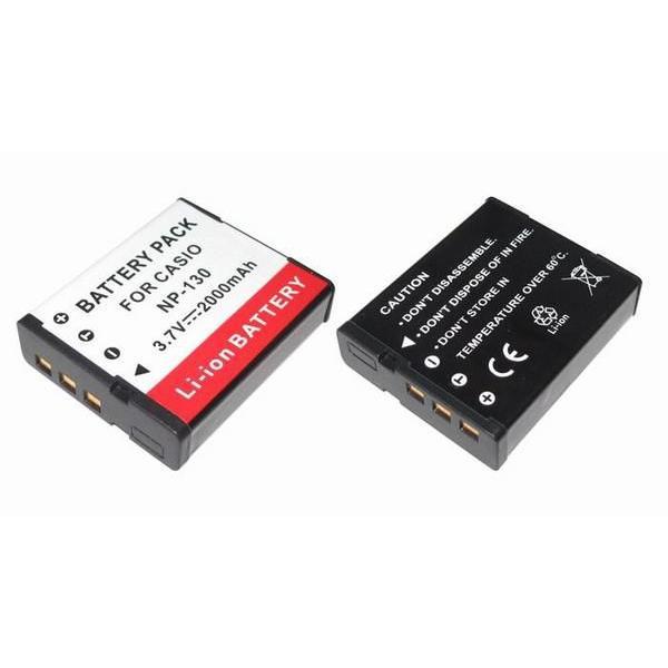 TKG』 カシオ NP-130/NP-130A互換バッテリーEX-SC100/EX-H30/EX-ZR100/EX-ZR200等対応