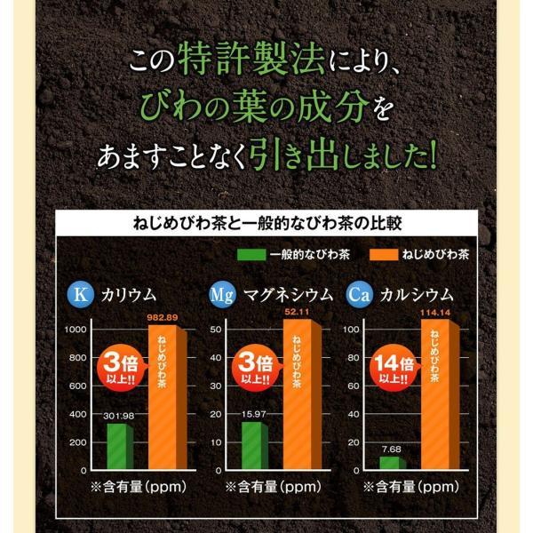 十津川農場 ねじめびわ茶お徳用 2g*200包 鹿児島大学と共同研究の国産ビワ茶|miyabi-store|11