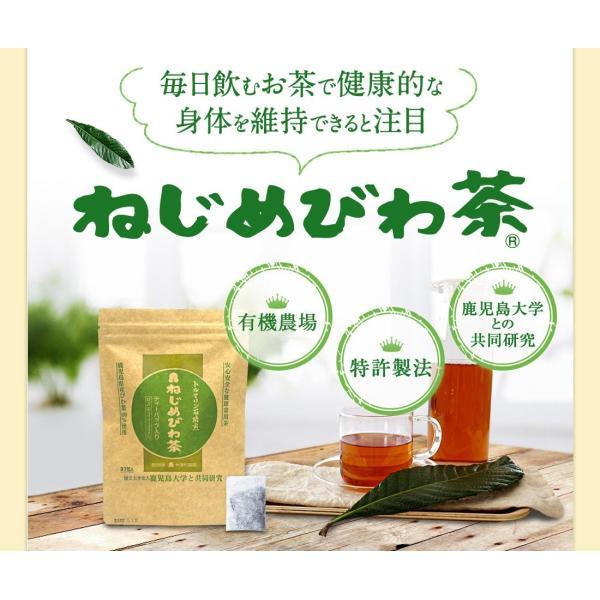 十津川農場 ねじめびわ茶お徳用 2g*200包 鹿児島大学と共同研究の国産ビワ茶|miyabi-store|05