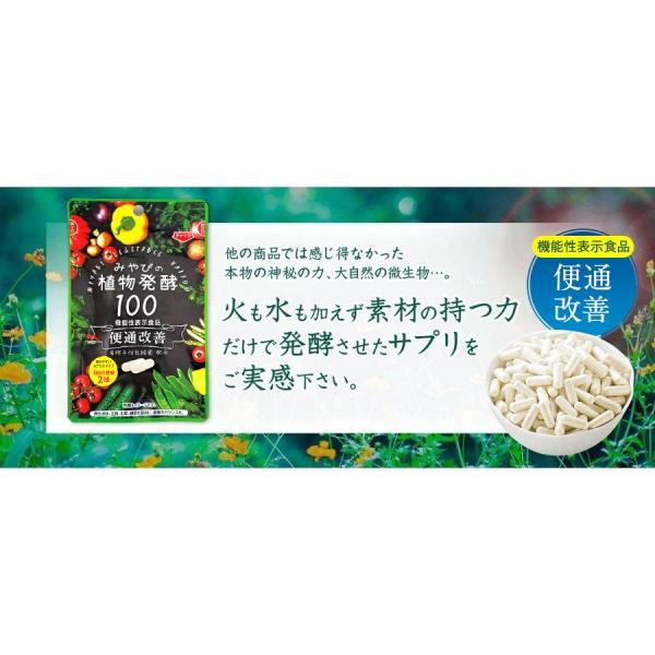 酵素サプリメント みやびの植物酵素サプリ100 3袋セット|miyabi-store|15