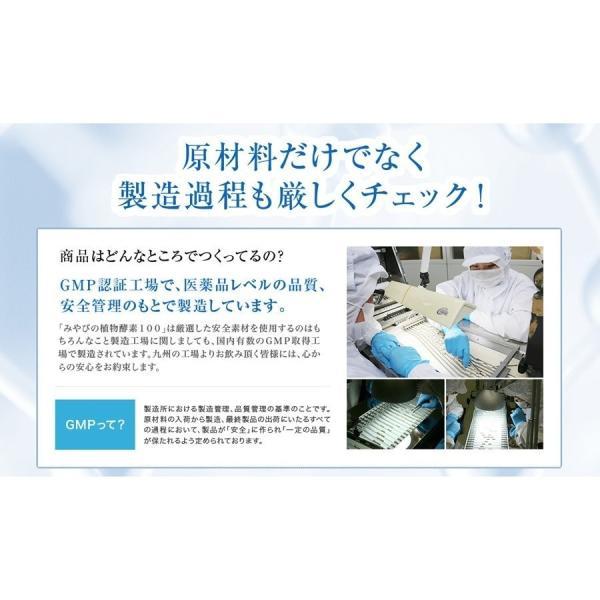 酵素サプリメント みやびの植物酵素サプリ100 3袋セット|miyabi-store|18