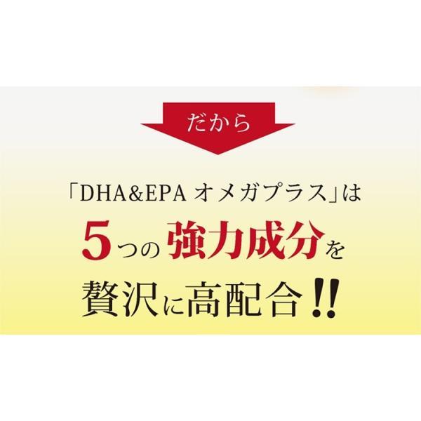 送料無料 DHA&EPA オメガプラス オメガ3サプリ 120球×5袋セット DHA EPA サプリメント|miyabi-store|08