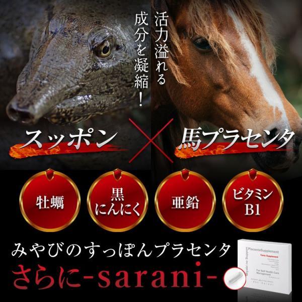 みやびの すっぽん プラセンタ さらに-sarani-|miyabi-store