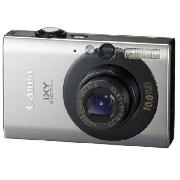 キヤノン イクシ デジタル Canon IXY DIGITAL 25 IS コンパクトデジタルカメラ 望遠 中古 ブラック