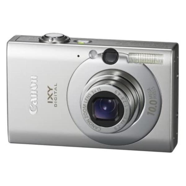 キヤノン イクシ デジタル Canon IXY DIGITAL 25 IS コンパクトデジタルカメラ 望遠 中古 シルバー