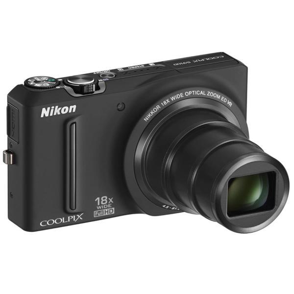 ニコン クールピクス Nikon COOLPIX S9100 コンパクトデジタルカメラ 望遠 中古 ノーブルブラック