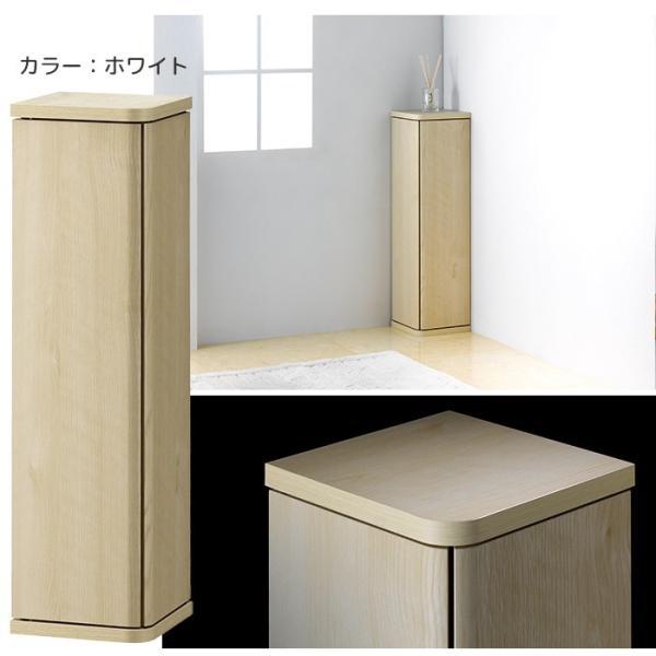 トイレラック コーナー おしゃれ スリム 木製 玄関収納|miyaguchi|06