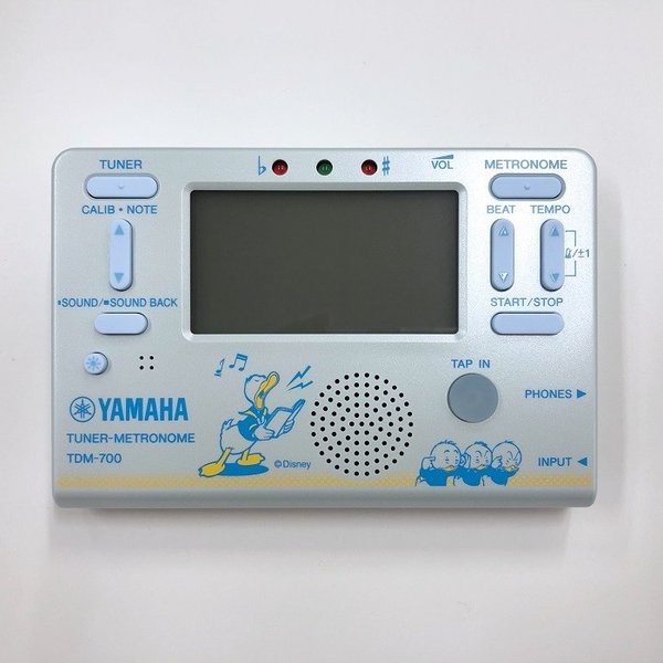ヤマハ YAMAHA ディズニー チューナーメトロノーム ドナルドダック TDM-700DD2