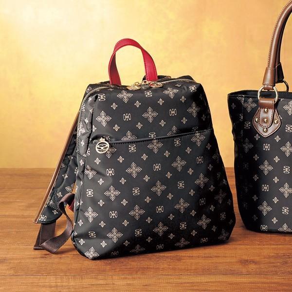 バッグ鞄レディース/サボイプレミアムラインリュックSAVOY/40代50代60代70代ミセスファッションシニアファッション