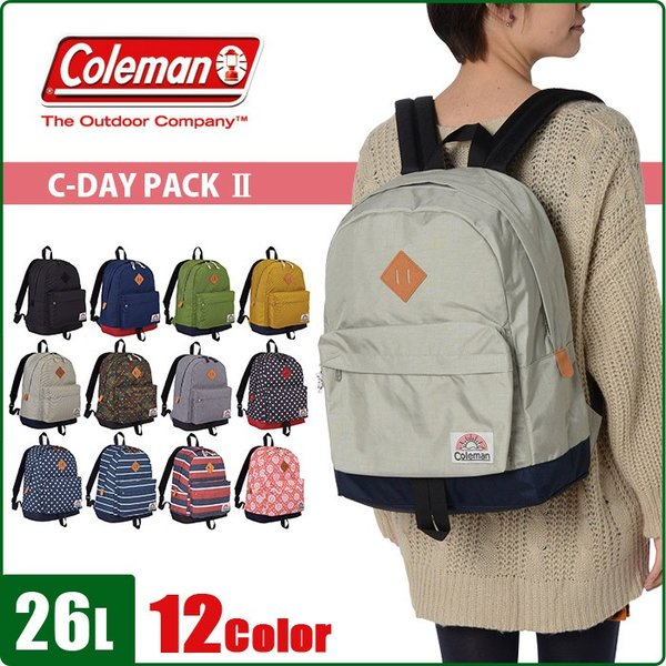 coleman コールマン リュックサック 26L C-DAY PACK2 CCS5011