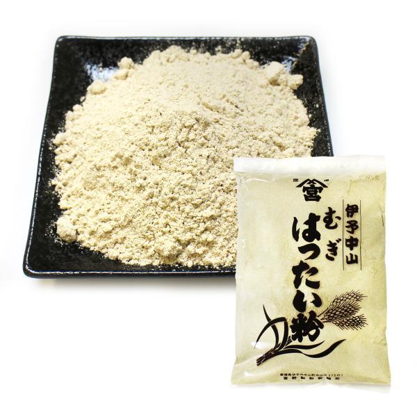 麦はったい粉 300g×3袋セット 無添加 宅配便発送|miyanosoba|02