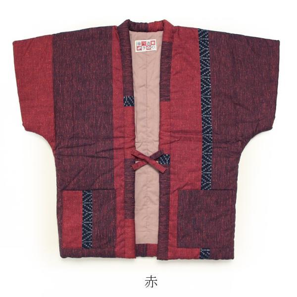 絣調ドビーやっこSサイズ(奴・半袖はんてん)【日本製】|miyata|11