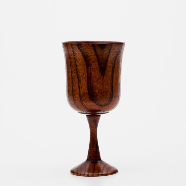 天然木製 ワイングラス 木目 漆塗り
