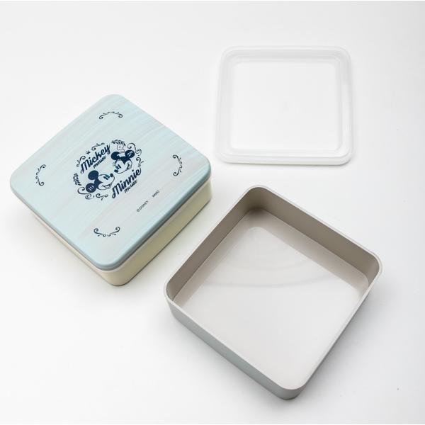 Disney 5.0 M&M ブルー 2段 重箱|miyoshi-ya|02