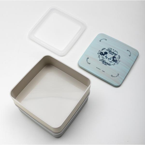 Disney 5.0 M&M ブルー 2段 重箱|miyoshi-ya|03
