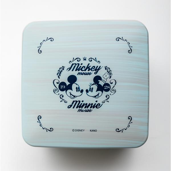 Disney 5.0 M&M ブルー 2段 重箱|miyoshi-ya|04
