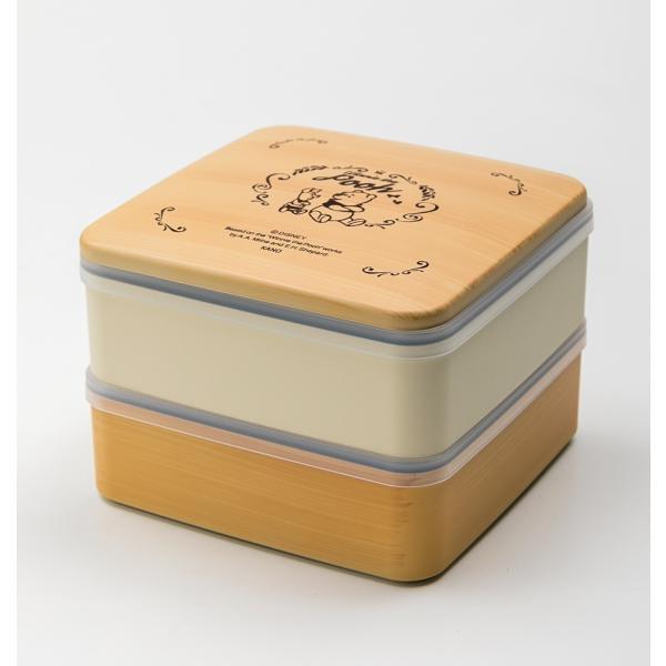 Disney 5.0 プー 2段 重箱 miyoshi-ya