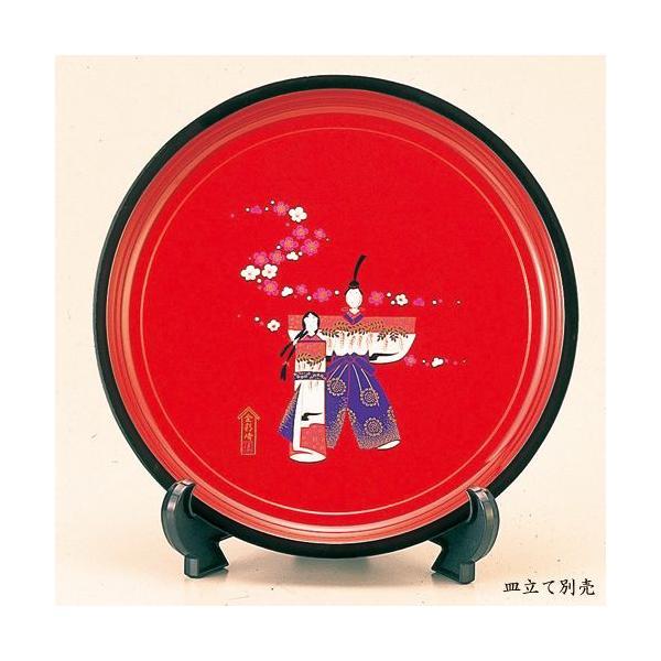 紀州塗り 尺寸 丸盆 香り雛 ひな祭り 飾り 置物 玄関 飾り 30cm お祝い プレゼント お盆 トレー 丸 かわいい 雛祭り 初節句 日本製